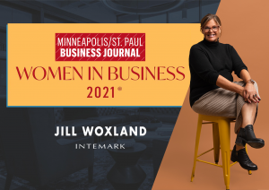 2021 Women in Business honoree by the Minneapolis/St. Paul Business Journal